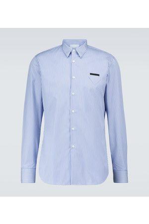 Prada Long-sleeved cotton shirt
