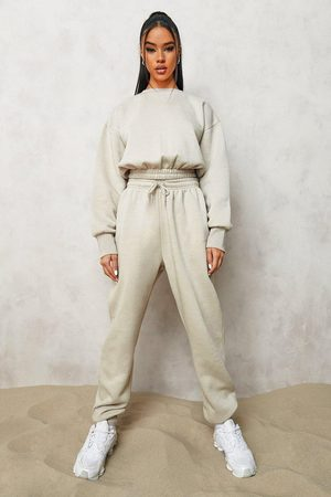 Boohoo Dame Gensere - Official Cropped Sweater Tracksuit