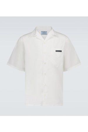 Prada Short-sleeved cotton shirt