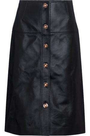 GABRIELA HEARST Dame Skinnskjørt - Anna leather midi skirt