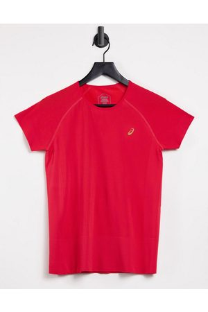 Asics Essential ss top in red