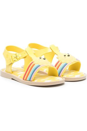 Mini Melissa Gutt Sandaler - Sunny Day appliqué sandals