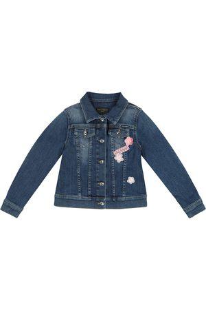 Dolce & Gabbana Jente Denimjakker - Appliqué denim jacket