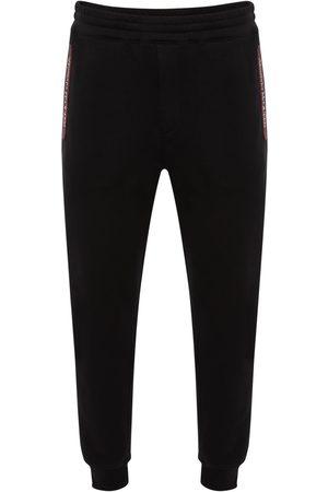 Alexander McQueen Logo Tape Cotton Sweatpants