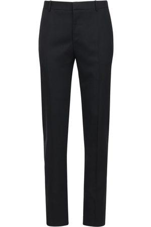 Alexander McQueen Wool Gabardine Pants