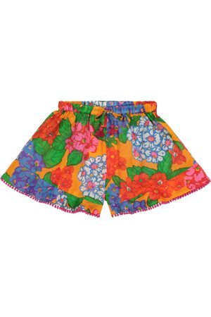 ZIMMERMANN Exclusive to Mytheresa – Riders cotton shorts
