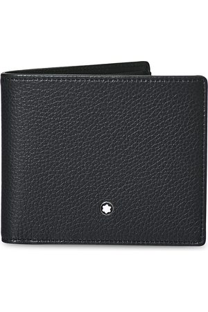 Mont Blanc MST Soft Grain Wallet 6cc Black