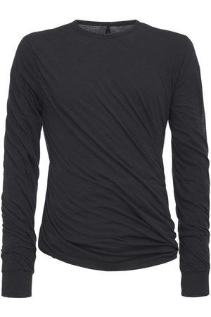 Rick Owens Herre Kortermede - Twist Long L/s Double Jersey T-shirt