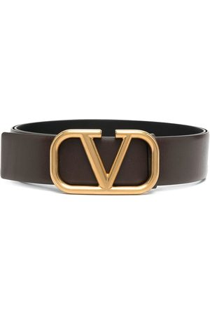 VALENTINO GARAVANI Herre Belter - VLOGO leather belt