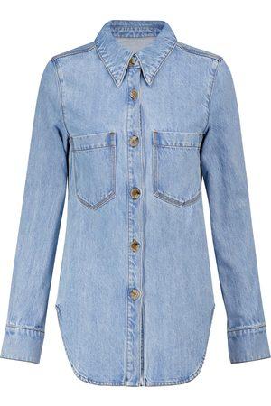 Nanushka Seint denim shirt jacket