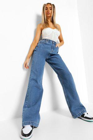 Boohoo High Rise Baggy Jean