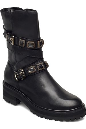 Dune Dame Skoletter - Reecie Shoes Boots Ankle Boots Ankle Boot - Flat