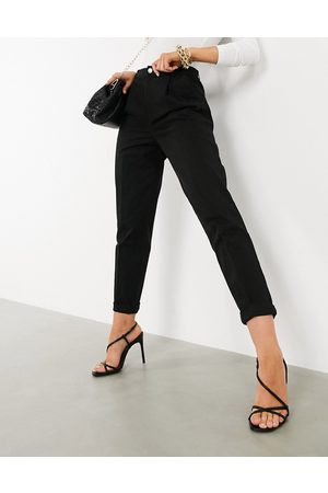 ASOS Chino trousers in black