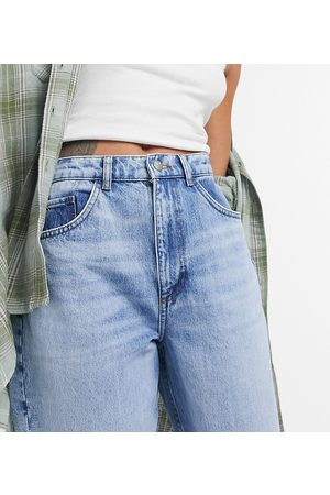 Reclaimed Vintage Dame Mom - Inspired 92' relaxed mom jean in pretty bleach responsible wash-Blue