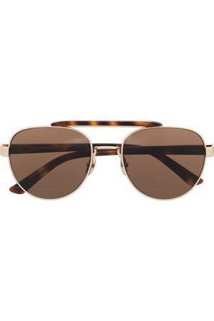 Calvin Klein Herre Solbriller - CK19306 round-frame sunglasses