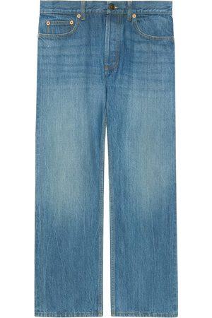 Gucci Dame Straight - X Disney eco denim jeans