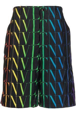 VALENTINO Herre Bermudashorts - VLTN print Bermuda shorts