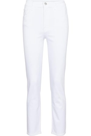 J Brand Alma high-rise straight jeans