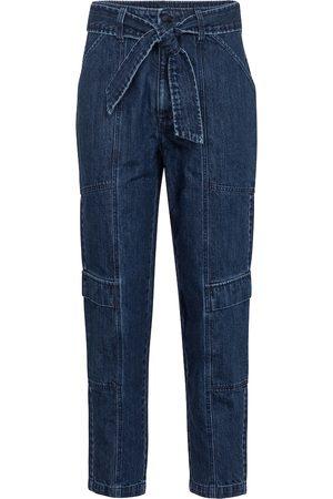 J Brand Dame High waist - Athena cropped paperbag jeans