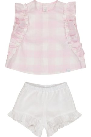 Il gufo Sett - Baby linen top and bloomers set
