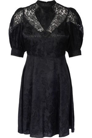 by Ti Mo Jaquard Lace Mini Dress