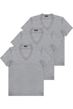 Dsquared2 Herre Kortermede - Branded T-shirt three-pack