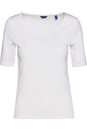 GANT 1X1 Rib Lss Top T-Shirts