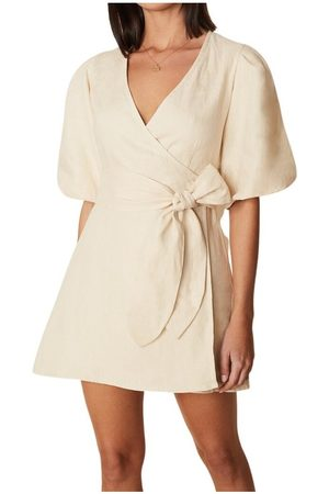 FAITHFULL THE BRAND Godiva Wrap Dress