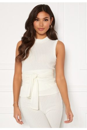 BUBBLEROOM Miley knitted top White L