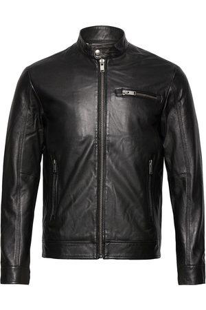 Selected Herre Skinnjakker - Slhiconic Classic Leather Jkt W Noos Skinnjakke Skinnjakke