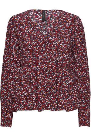 YAS Dame Bluser - Vicky Ls Shirt S. Bluse Langermet