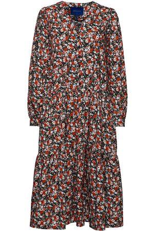 Résumé Dame Mønstrede kjoler - Carlie Dress Knelang Kjole Multi/mønstret