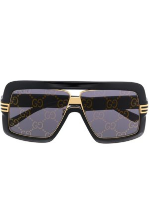 Gucci Eyewear Square-frame oversized sunglasses