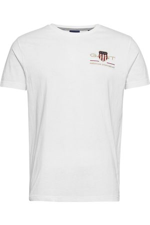 GANT D2. Archive Shield Emb Ss T-Shirt T-shirts Short-sleeved