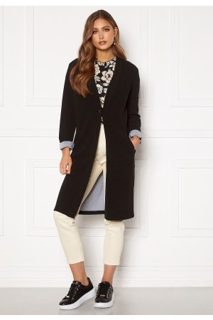 Happy Holly Stefanie tricot coat Black 40/42