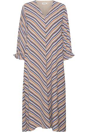 Modstrom Clementine Print Ls Dress Knelang Kjole Multi/mønstret