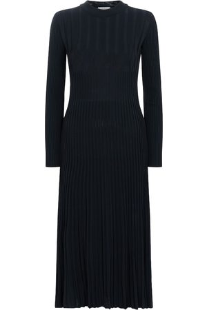 Max Mara Nausica ribbed-knit crêpe midi dress