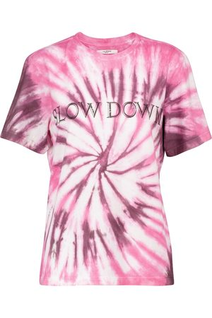Isabel Marant Dame Kortermede - Zewel tie-dye cotton T-shirt