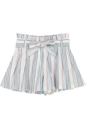 Tartine Et Chocolat Jente Shorts - Striped cotton shorts