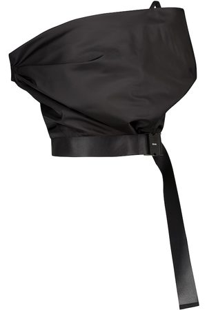 Prada Off-shoulder re-nylon gabardine top