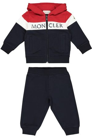 Moncler Loungewear - Baby stretch-cotton tracksuit