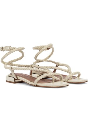 Souliers Martinez Amanecer 45 braided leather sandals