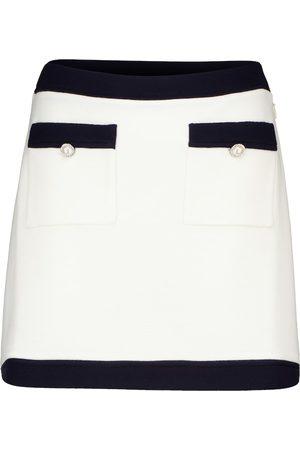 Miu Miu Dame Miniskjørt - Virgin wool miniskirt