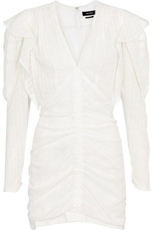 Isabel Marant Getya cotton-blend minidress