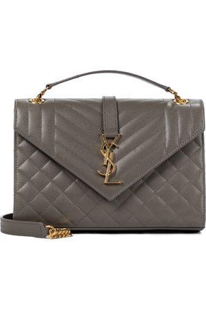 Saint Laurent Envelope Medium leather shoulder bag