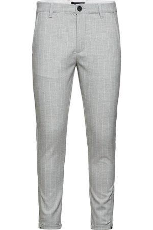 Gabba Herre Chinos - Pisa Peli Stripe Pant Dressbukser Formelle Bukser Grå