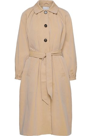 2nd Day Dame Trenchcoats - 2nd Amalie Trench Coat Kåpe Beige