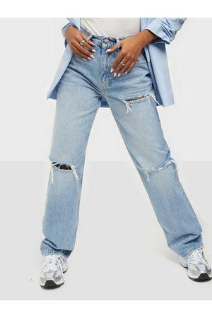 Gina Tricot Dame High waist - 90s High Waist Jeans