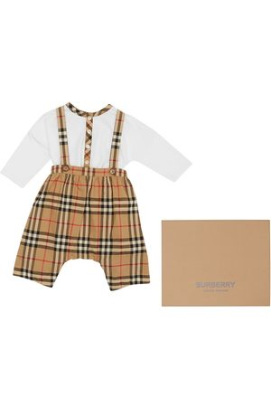 Burberry Snekkerbukser - Nova check dungaree set