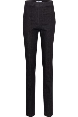 Safiyaa High-rise straight slim jeans